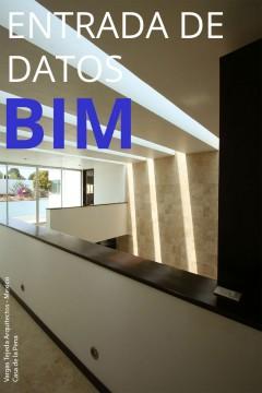Entrada de datos BIM